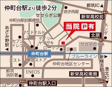 神奈川県横浜市都筑区仲町台2-9-12